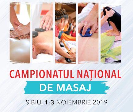 Prima ediție a Campionatului Național de Masaj are loc la Sibiu