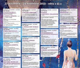 Festivalul Internațional al Muzicii și Dansului, editia a 45-a, de la Constanta se deschide cu Carmina Burana pe 27 octombrie