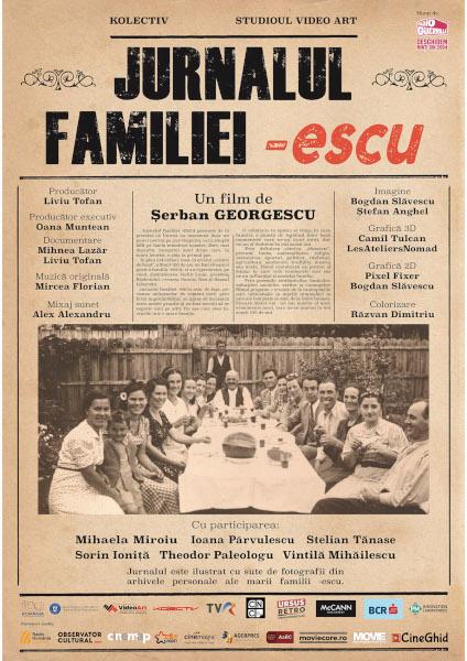 afis Jurnalul familiei -escu