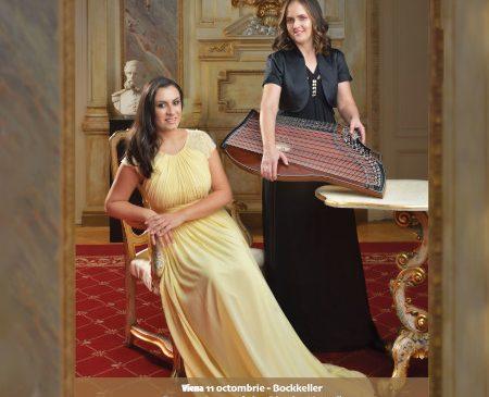 """Turneul STARS IN THE SKY / """"STELELE-N CER"""" cu RODICA VICA (soprană) și BARBARA LAISTER- EBNER (țiteră)"""