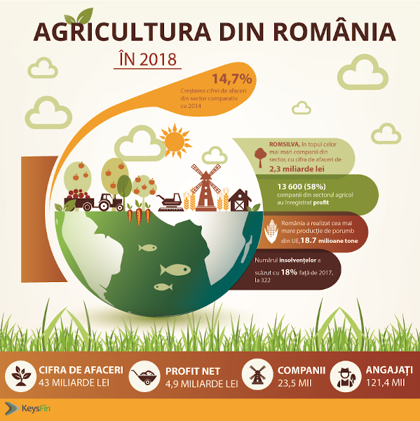 agricultura in Romania 2018