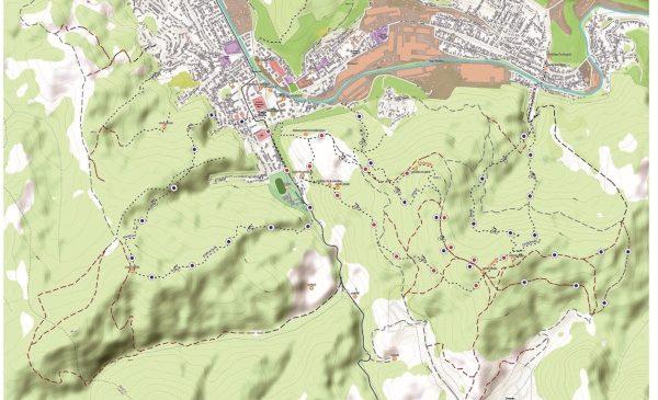 Suflu nou traseelor de bicicletă și drumeții din jurul Reșitei adus de voluntari și platforme online