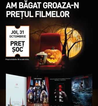 De Halloween, ai filme horror la un preț șoc