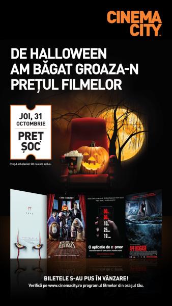 poster Cinema City Halloween