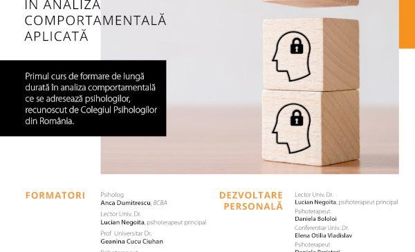 Autism Voice în parteneriat cu Help Autism organizează primul curs de specializare în terapia ABA din România
