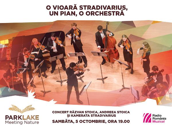 Un Stradivarius la mall - Clasic chic de toamnă la ParkLake cu violonistul Răzvan Stoica