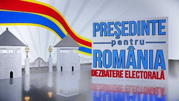 Presedinte pentru Romania dezbatere electorala TVR