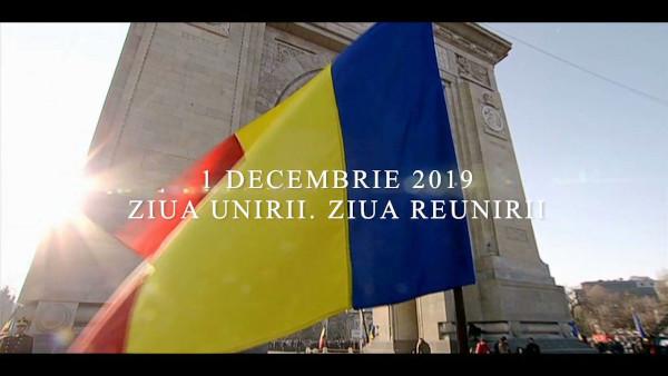#eusuntromania, de 1 Decembrie, la TVR 1