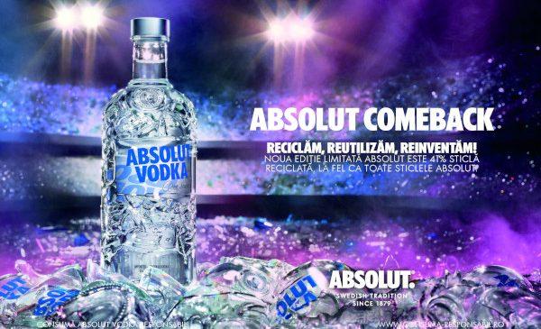 Absolut lansează noua ediție limitată Absolut Comeback