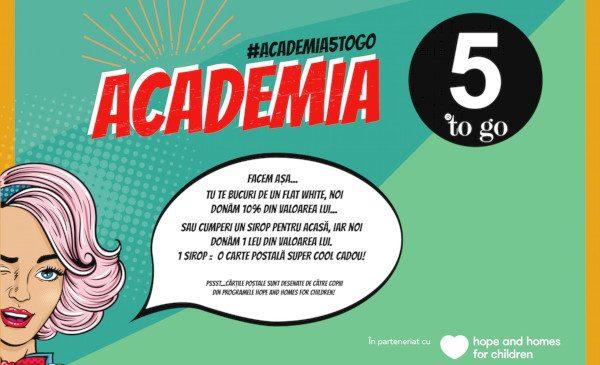 """5 to go susține performanța: """"Academia 5 to go"""", cel mai nou proiect al brandului românesc de cafea"""