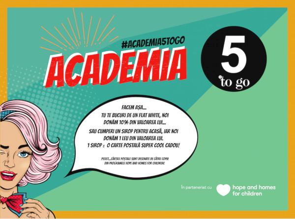 Academia 5 to go vizual