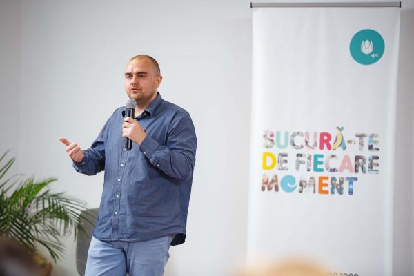 Alin Chiriac, inițiatorul Kids in Tech