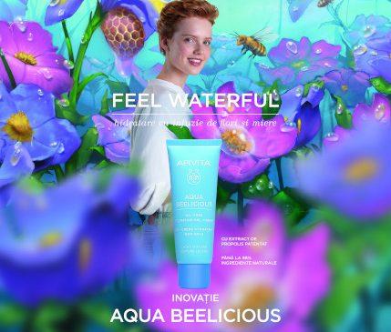 Apivita lansează Aqua Beelicious, cea mai nouă colecție de produse de hidratare inspirate de natură