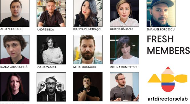 Art Directors Club România se extinde cu 13 noi membri