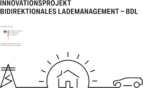 Bi-directional Charging Management (BCM) - Project Logo of the Research Project