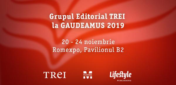Bilanțul Grupului Editorial Trei la Târgul Internațional Gaudeamus – Carte de învățătură 2019