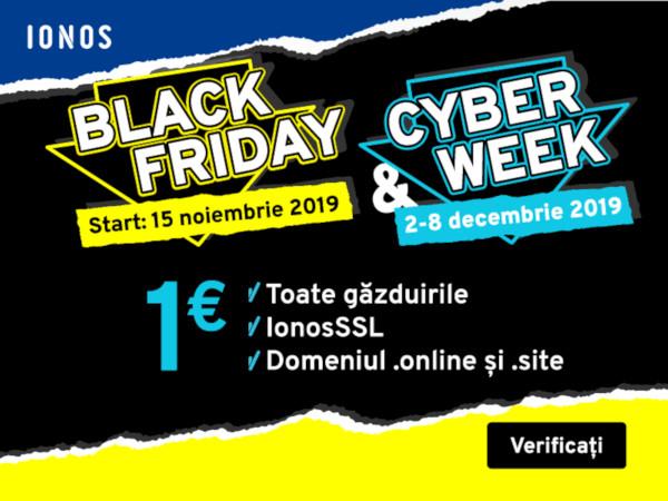 Black Week - ionos.ro
