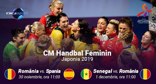 Campionatul Mondial de Handbal Feminin: peste 60 de meciuri, în direct, la Digi Sport