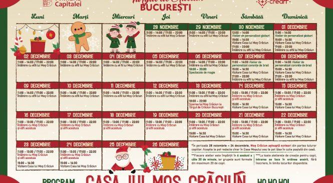 Program Târgul de Crăciun Bucureşti