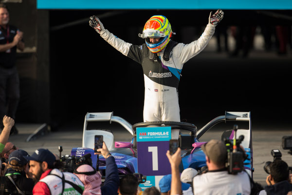 Diriyah (KSA), 21st-23rd November 2019. ABB FIA Formula E Championship, Season 6, BMW i Andretti Motorsport, BMW iFE.20, Alexander Sims