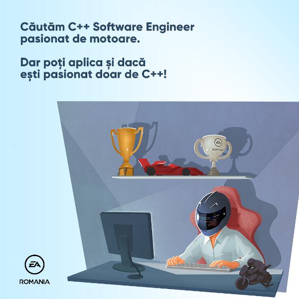 EA Romania C++ Software Engineer