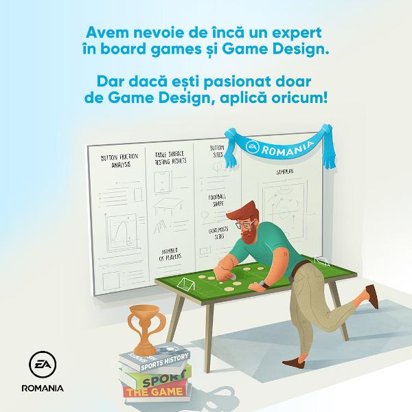 EA Romania Graphic Designer