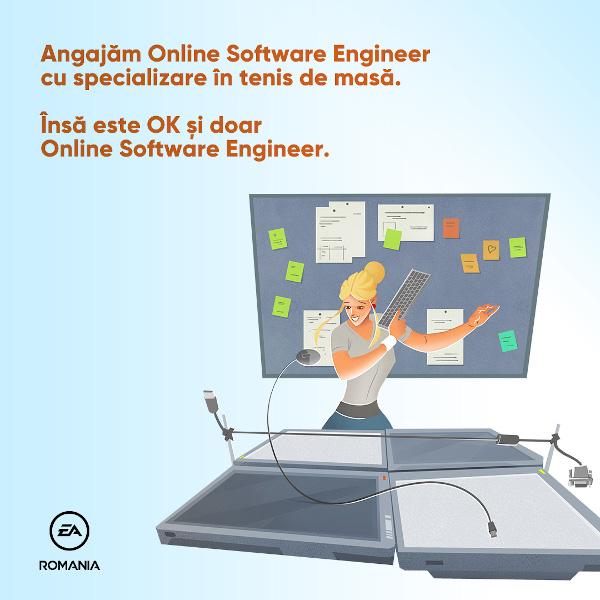EA Romania Online Software Engineer