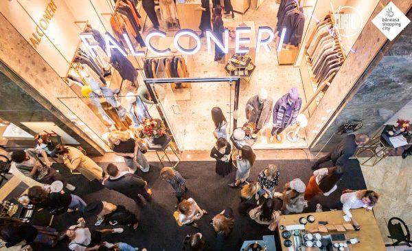 #XCLUSIVE BY BĂNEASA SHOPPING CITY continuă cu deschiderea primului magazin Falconeri în România, exclusiv în Băneasa Shopping City