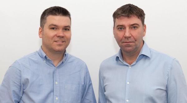 Gabriel Iliescu (stânga) și Dragoș Cătălinoiu Gociman (dreapta), MyPal.travel