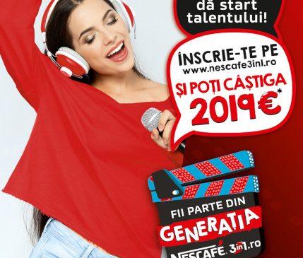 Generația NESCAFÉ 3in1 – campania care susține tinerii să își îndeplinească visurile