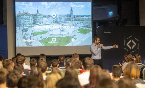 Ceremonia de deschidere Generația Tech Oradea i-a reunit pe cei care construiesc local mișcarea de digitalizare