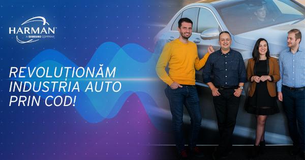 HARMAN Romania recrutare programatori in echipa de Telematica