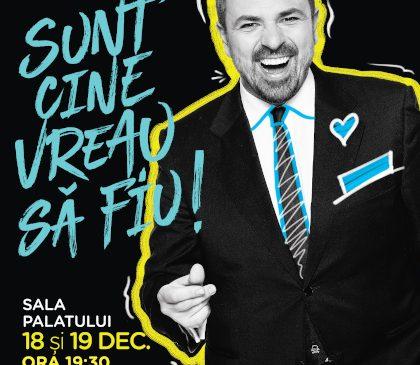 """""""Sunt cine vreau să fiu"""", reafirmă Horia Brenciu pe 18 și 19 decembrie la Sala Palatului"""