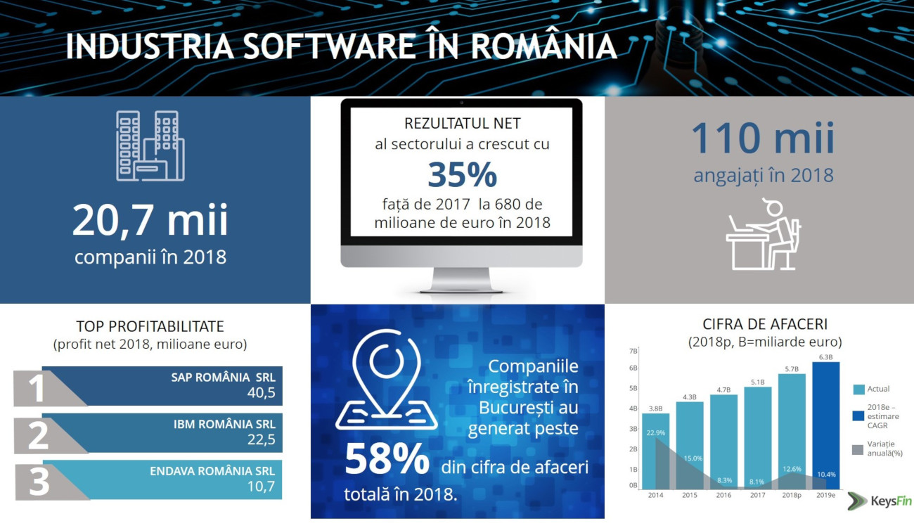 Industria software in Romania