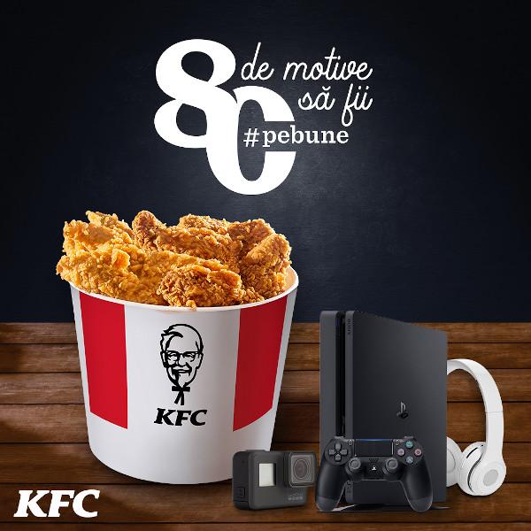 KFC premii aniversare