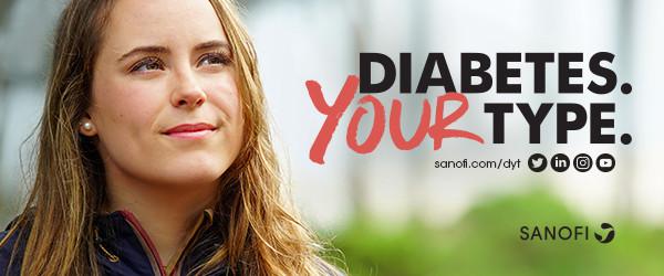"""Sanofi Romania marchează Ziua Mondială de luptă împotriva Diabetului prin campania """"Diabetes. Your Type"""", care promovează abordarea individualizată a persoanelor cu diabet"""