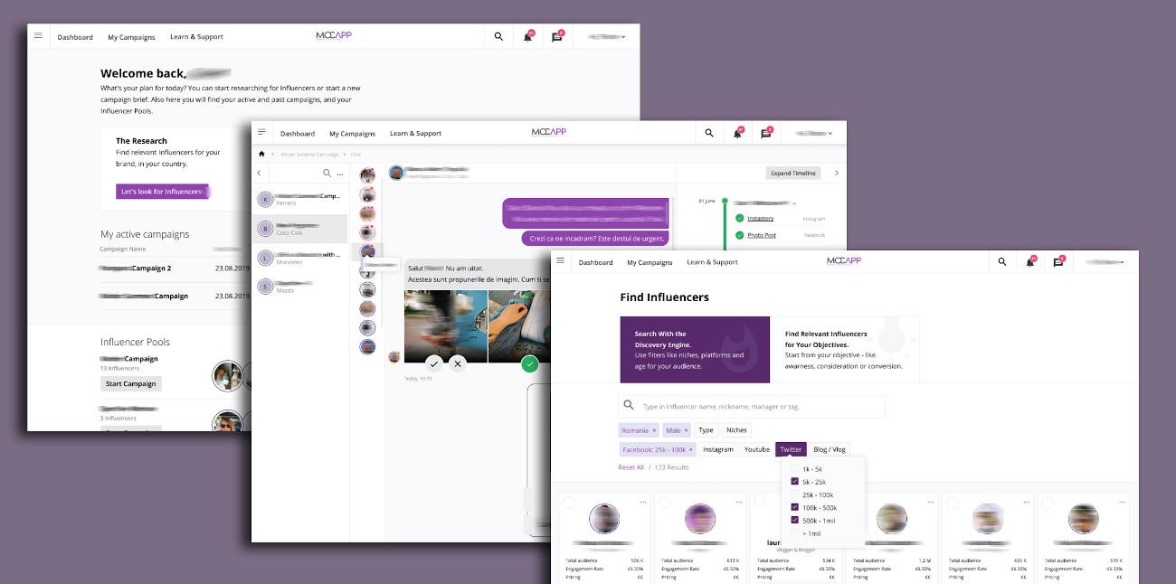 MOCAPP - Demo new design