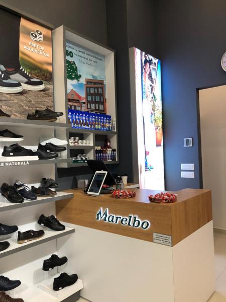 Marelbo, interior magazin Sibiu