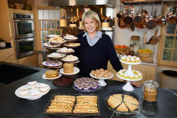 Martha Stewart in lumea prajiturilor