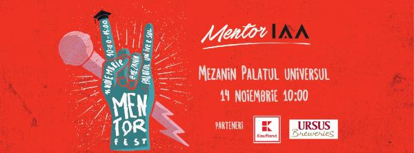 Hai la prima ediție MentorFEST