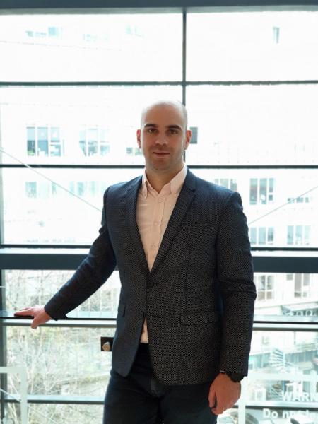 Mircea Tudosie, Axis Communications