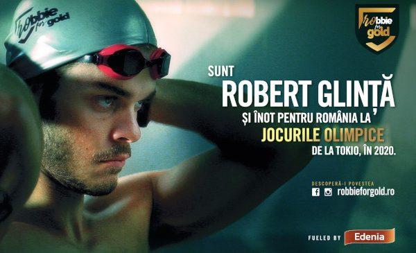 Robert Glință înoată pentru România la Jocurile Olimpice de la Tokio 2020