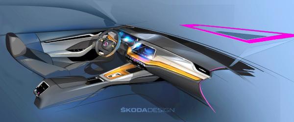 SKODA OCTAVIA new interior concept 1
