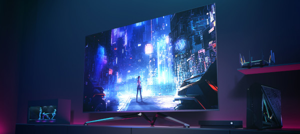 Republic of Gamers (ROG) a lansat Swift PG65UQ, un monitor de gaming în format mare (65″)