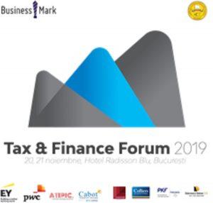 Tax & Finance Forum Bucuresti noiembrie