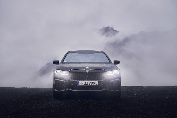 The new BMW 745Le xDrive