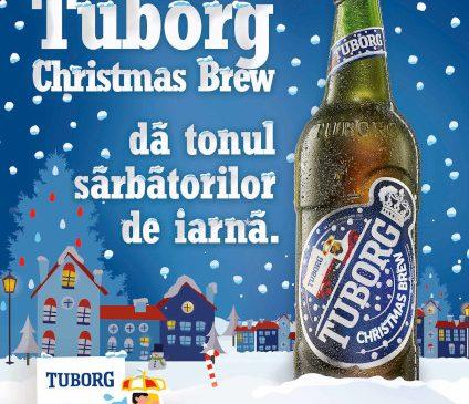 Tuborg lansează și în acest an Tuborg Christmas Brew, berea cu gust special de sărbători