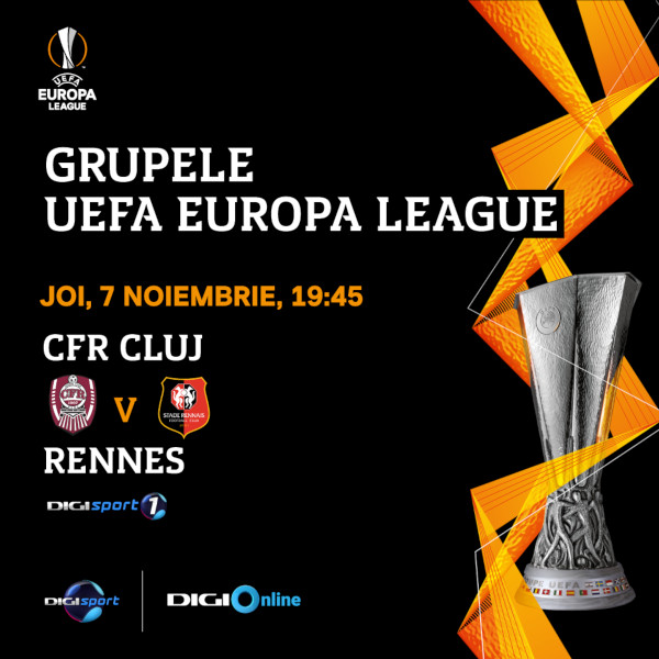 UEL CFR Cluj-Rennes 7 nov
