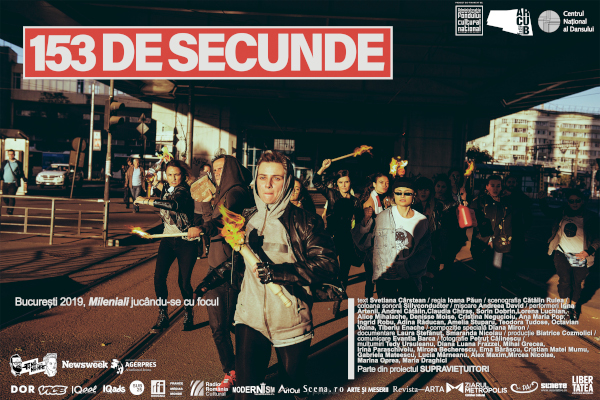 afis 153 de secunde, Bucuresti 2019