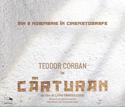 Cărturan, în regia lui Liviu Săndulescu, vine din 8 noiembrie în premieră în 21 de orașe din țară